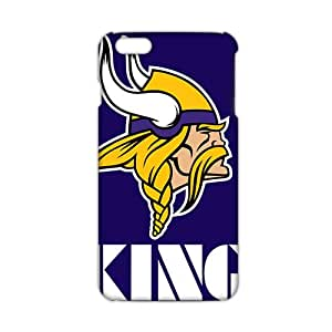 Ultra Thin minnesota vikings logo 3D Phone Case for iPhone 6 Plus