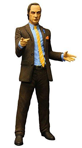 "Mezco Toys Breaking Bad: Saul Goodman (Brown Suit Version) 6"" Action Figure"