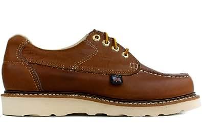 Thorogood Men's Moc Toe Oxford Non-Safety (814-4100), 14EE