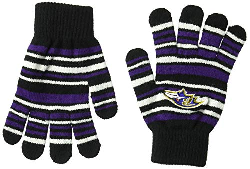 Baltimore Ravens Gloves - Baltimore Ravens Stretch Glove