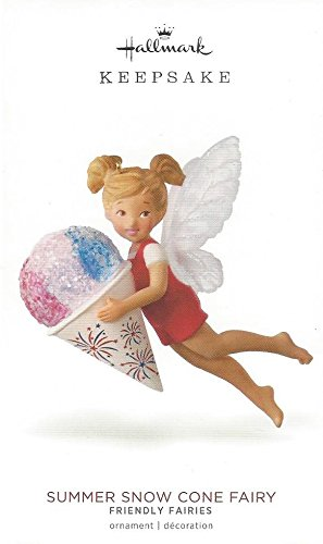 (Hallmark 2018 Summer Snow Cone Fairy # 6 in Friendly Fairy Series Ornament)