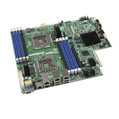 Intel S2400EP4 Server Motherboard - Intel C602-A Chipset - Socket B2 LGA-1356 - SSI CEB - 2 x Processor Support - 128 GB DDR3 SDRAM Maximum RAM - Serial ATA/600, (Ddr Sdram Dimm Dual Channel)