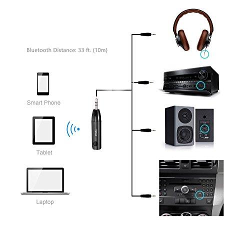 bluetooth receiver adapter  tstar  aluminum wireless mini