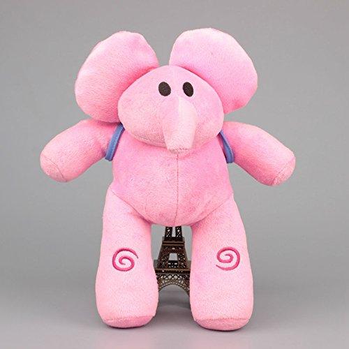 Pocoyo Dog Loula Elephant Elly Duck Pato Toddler Stuffed Plush Kids Toys 4 Pcs/set by kidsheaven