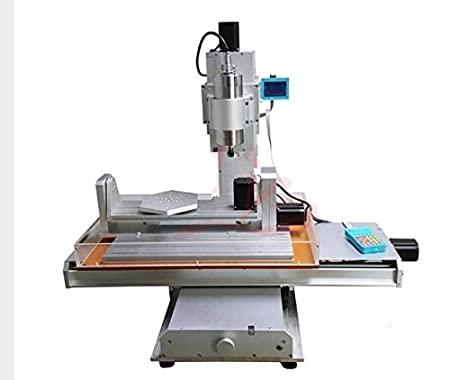 Gowe Cnc Woodworking Lathe Machines 5 Axis Cnc Wood Router Engraver