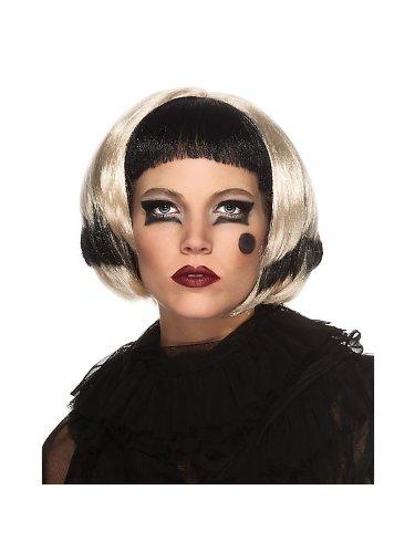 Rubie's Women's Lady Gaga Black and Blonde Wig ()
