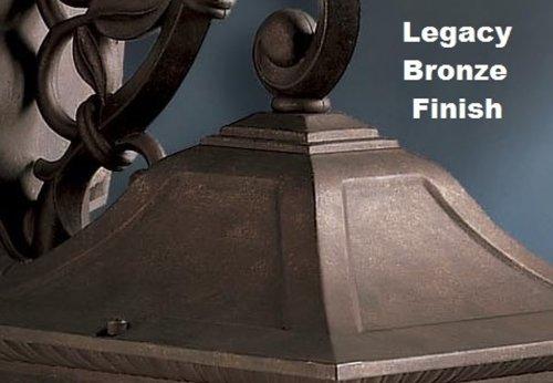 Kichler 4927LZ 36-Inch Solid Brass Outdoor Lighting Chain, Legacy Bronze