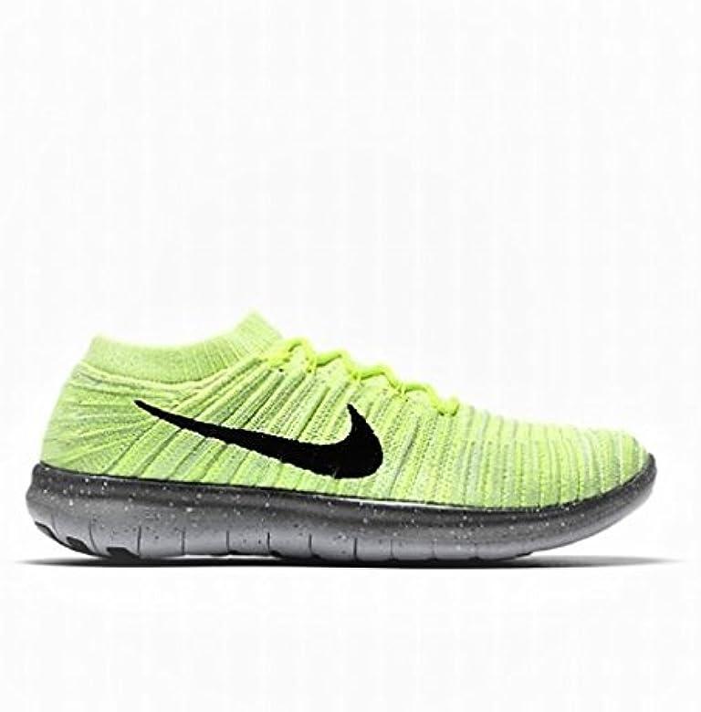 Hombre Nike Free RN Movimiento Flyknit Verde Zapatillas Running 834584 004: Amazon.es: Zapatos y complementos