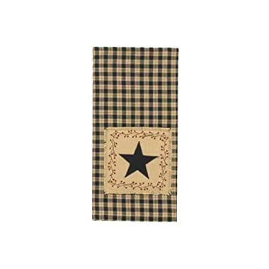 Star Patch Decorative Dish Towel