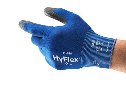 [Gesponsert]Ansell Arbeitshandschuhe aus nylon HyFlex 11-618