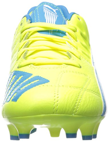 Puma Evospeed 3.4 Lth Fg Sneaker Safety Yellow/Atomic