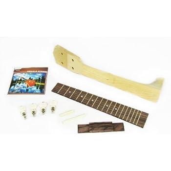 kmise ukulele bridge rosewood for uke ukelele hawaii guitar parts replacement. Black Bedroom Furniture Sets. Home Design Ideas