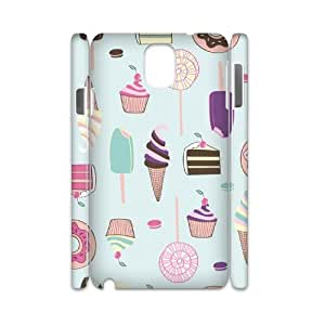 SOPHIA Phone Case Of Ice cream Cute Cartoon Cool Painting For Samsung Galaxy Note 3 N9000