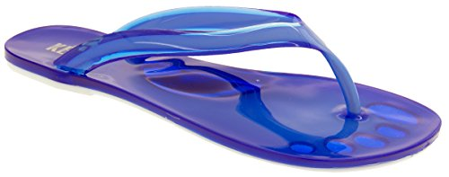 Footwear Studio Keddo Femmes Design Bout Tongs Bleu ba0rKgQAE6