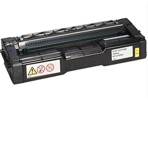 Ricoh 406478 Print Cartridge for Select Models, Yellow