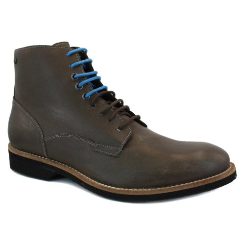 Diesel Cornwall Mens Laced Leather Ankle Boots Brown - 45