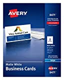 "Avery 2"" x 3.5"" Business Cards, Sure Feed"