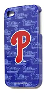 [WG] MLB PHILADELPHIA PHILLIES HARD BACK PIECE Faceplate Protector Case Cover for Apple iphone 6 plus 5.5 G / 4