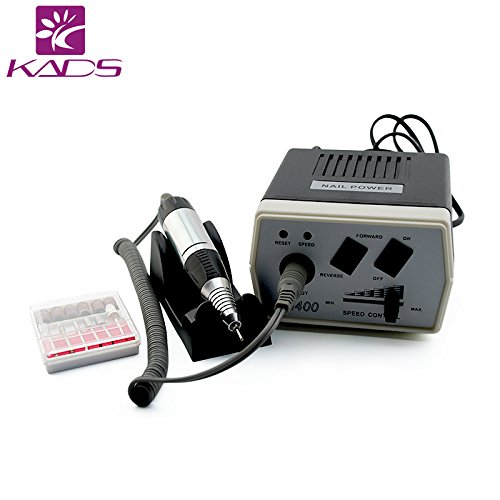 KADS 30000RPM Nail Drill Machine Electric Nail File Manicure Pedicure Drill Acrylic Nails Tools with Remove Hard Gel, Low Heat/Low Noise/Low Vibration