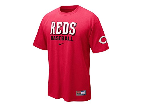 Nike Cincinnati Reds Practice T-Shirt - Red (Medium)