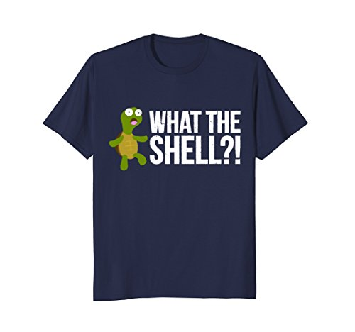 What The Shell?! Funny Turtle Pun - Is Tortoise Color What