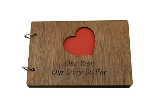 1 Year Our Story So Far - Scrapbook, Photo album or Notebook Idea For 1st Anniversary