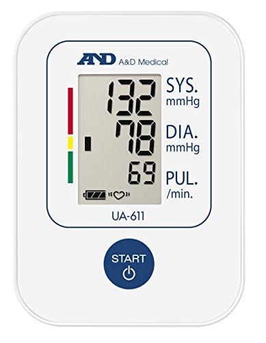 A&D Medical UA-611 Tensiómetro de brazo digital, lecturas de presión arterial rápidas, cómodas y precisas, validado… 4