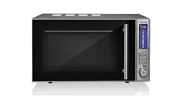 Silvercrest – Microondas con grill smw 800 C3: Amazon.es: Grandes ...