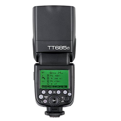 Godox TT685F TTL Flash 2.4G HSS GN60 High Speed 1/8000S Speedlite Flash light for Fujifilm Fuji X-Pro2/1 X-T20 X-T2 X-T1