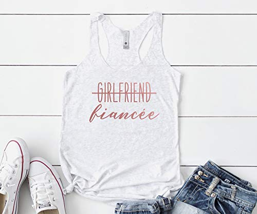 Girlfriend Fiancee Tank Top, Other Colors Available