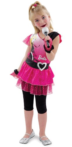 [Rockin' Diva Barbie Toddler/Child Costume Size 3T-4T] (Barbie Halloween Costumes For Kids)