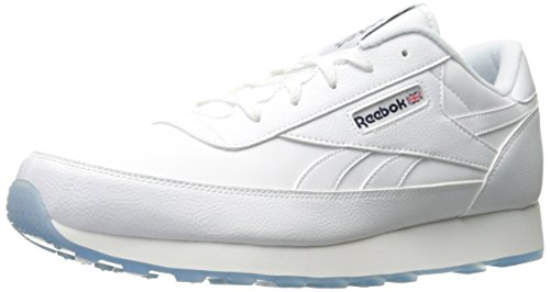 Reebok Men's Classic Renaissance Ice Walking Shoe, White/Coll. Navy Ice, 8.5 4E US (Shoes Leather Classic Mens Walking)