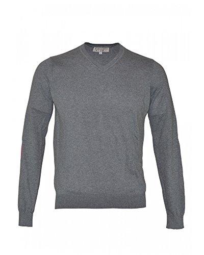 MANUEL RITZ - Pull - Homme gris gris XX-Large