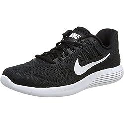 Nike Women's LunarGlide 8 Running Shoe Black/White/Anthracite Size 8 M US