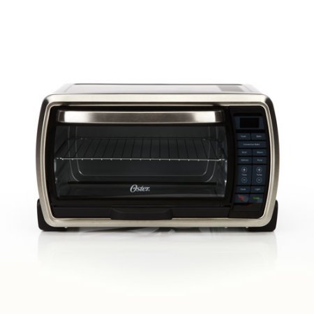 Large Digital Countertop Toaster Oven, Cooking Functions Include Bake, Broil, Toast, Pizza, Defrost and Warm (Oster Compact Toaster Oven compare prices)