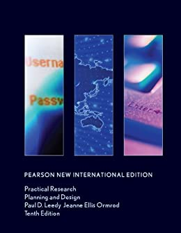 Practical Research Pearson New International Edition Planning And Design Kindle Edition By