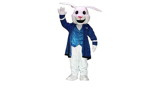 rushopn - Disfraz de Conejo Blanco de Pascua de Alicia en el país ...