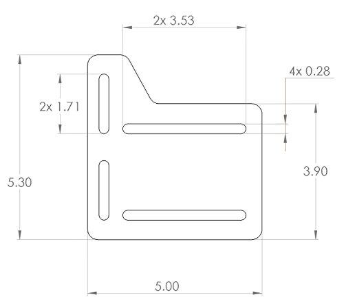 Bed Frame Brackets Adapter Headboard Extra Heavy Duty Set Of 2 Hardware Plate 767408998703 Ebay