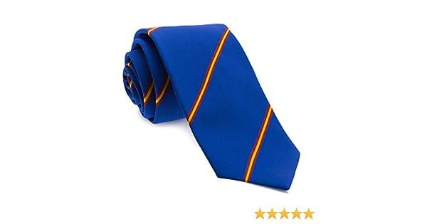 Cencibel Smart Casual Corbata Rayas España (Azul): Amazon.es: Ropa y accesorios