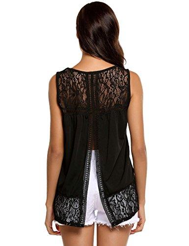 split back top plus size - 5