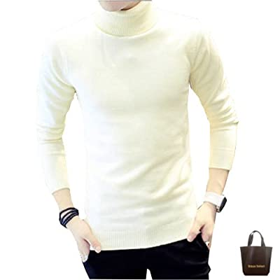 07c53730dd368 (アーバンセレクト) Urban Select ニット セーター メンズ 長袖 おしゃれ カットソー タートルネック 無地 カジュアル 17amt91