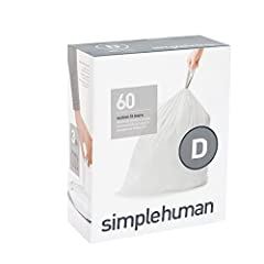 One size does not fit all! simplehuman custom fit liners are designed to fit each of our trash cans perfectly so there is no messy bag overhang or bunching — and they never slip. With extra-thick plastic and double-seam construction, simplehu...