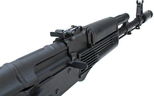 Evike - New Version Full Metal CYMA/Kalash AK-74 Airsoft AEG Rifle w/Side  Folding Stock