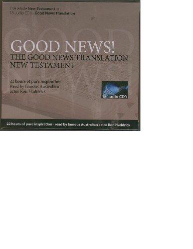Good News Translation Audio New Testament: 18-CD Set