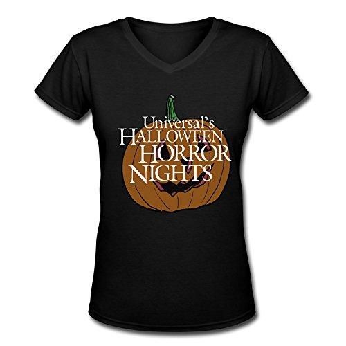 Halloween Horror Nights 25 Lanyard (T Shirt-Women's Halloween Horror Nights Pumpkin Short-sleeve)