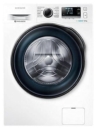Samsung - Lavadora de carga frontal Ecobubble WW80J6410CW/EC de 8 ...