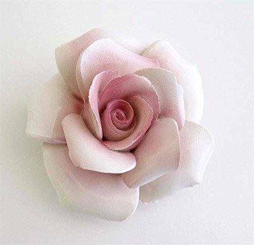 Capodimomte Ceramic Flower Rose