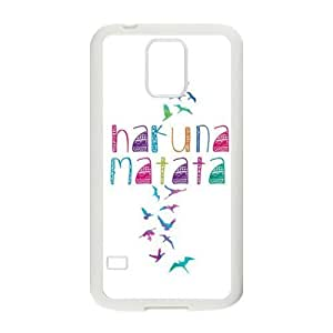 Colorful Free Birds Freedom Hakuna Matata Rubber Phone Cover Case for Samsung Galaxy S5,SV Cell Cases