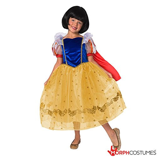 Deluxe Storybook Princess Costumes (Girls Storybook Forest Deluxe Princess Fancy Dress Costume)