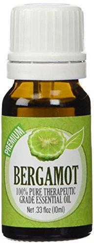 Bergamot - 100% Pure, Best Therapeutic Grade Essential Oil - 10ml